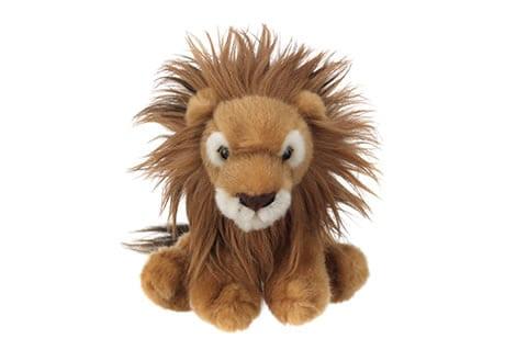 Lion cuddly toy