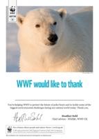Adopt a Polar Bear Certificate