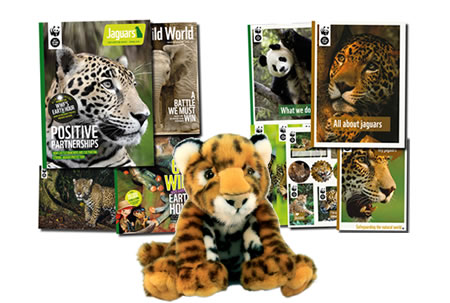 Adopt a Big Cat Gift Pack