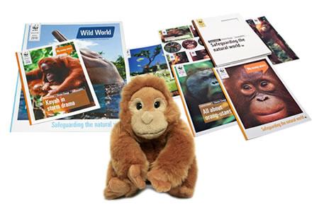 Adopt an Orangutan Gift Pack