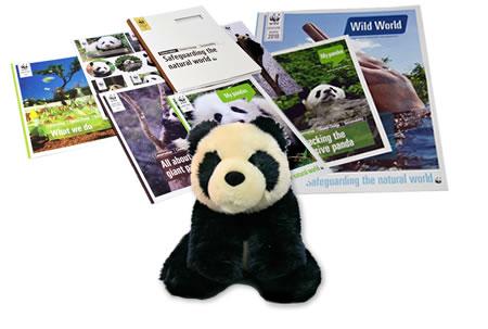 Adopt a Panda Gift Pack
