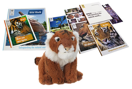 Adopt a Tiger Gift Pack